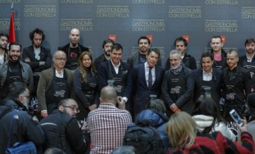 """González reúne en Sol a los chefs madrileños con """"Estrellas Michelín"""", en un homenaje a la gastronomía"""