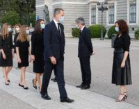 Díaz Ayuso acompaña a SS MM Los Reyes a la Eucaristía en memoria de las víctimas del COVID-19