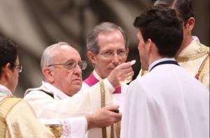 Eucaristía. Papa Francisco 3