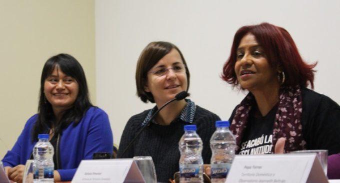 Empleadas del hogar de origen migrante: «Exigimos los mismos derechos que tiene cualquier trabajador»