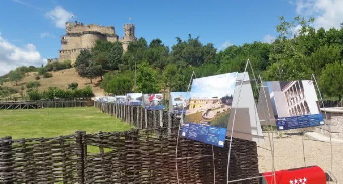 Exposición en el castillo de los Mendoza de Manzanares el Real de grandes proyectos financiados por la Unión Europea