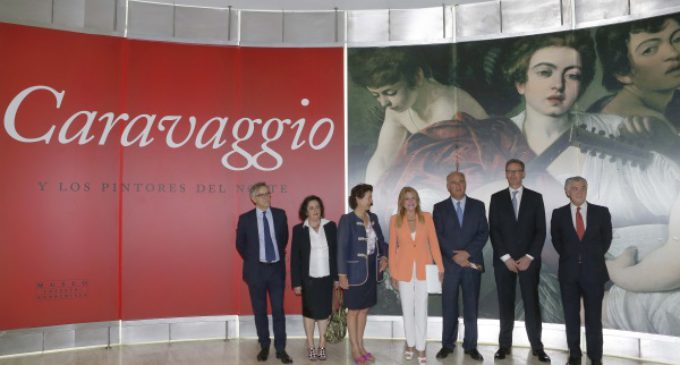 Anunciada Fernández de Córdova participa en la inauguración de 'Caravaggio y los pintores del norte'