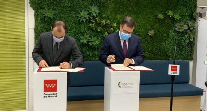El consejero de Economía ha suscrito un protocolo de actuación con FECOMA para promover el cooperativismo en la región
