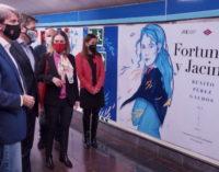 La Comunidad rinde homenaje a Pérez Galdós en su centenario en la estación de Metro de Ríos Rosas