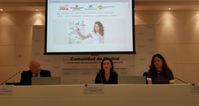 La Comunidad de Madrid becará las mejores ideas de jóvenes emprendedores que posean el Carné Joven