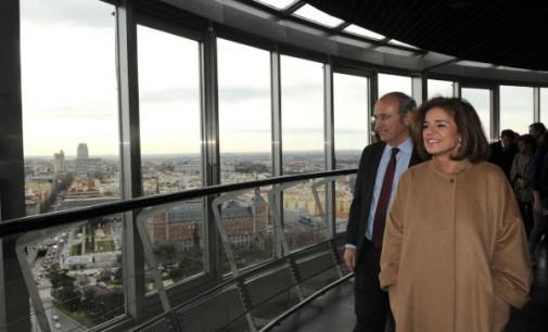 El Faro de Moncloa, nuevo atractivo turístico. El mirador podrá visitarse desde finales de marzo
