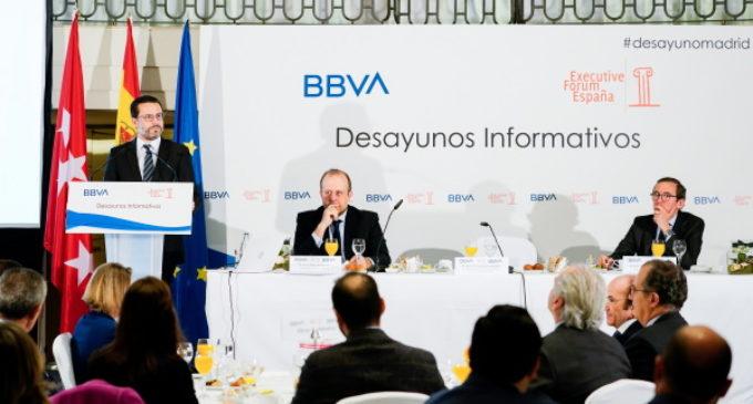 Fernández-Lasquetty defiende la autonomía fiscal de la Comunidad de Madrid que incentiva el crecimiento y la creación de empleo
