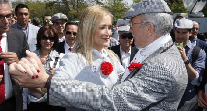 Cifuentes participa en los actos de celebración del Patrón de Madrid