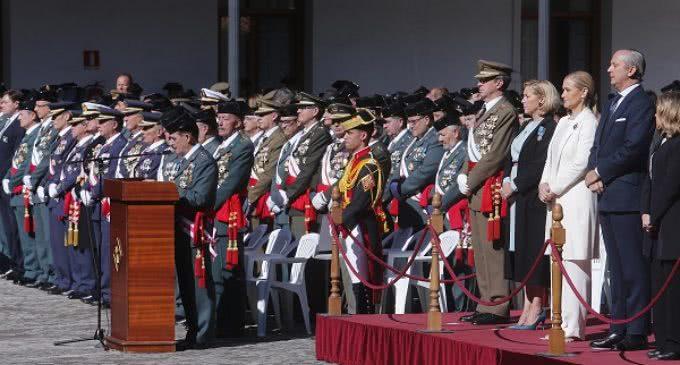 Cifuentes participa en al acto de celebración de la Patrona de la Guardia Civil en Madrid