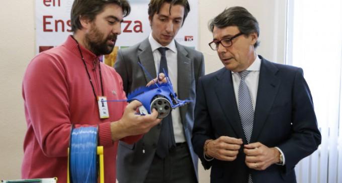 Madrid dotará a todos los institutos de una impresora 3D para la nueva asignatura de programación