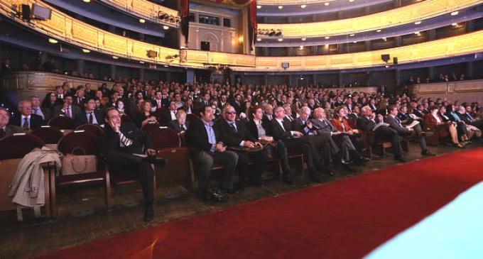 700 personas asisten en el Teatro Real a la presentación de la ciudad Iberoamericana del siglo XXI