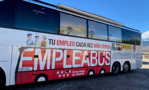 El EmpleaBus de la Comunidad de Madrid atiende más de 500 citas en sus tres primeros meses