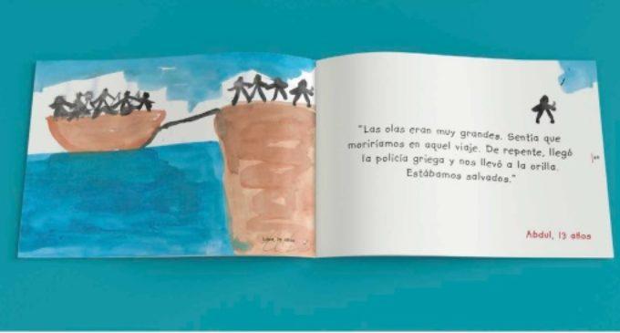 """""""¡Amigo Mío!"""", el libro que recoge la mirada de los niños sirios desplazados a campos de refugiados en Grecia"""