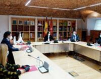Díaz Ayuso analiza con la Federación Madrileña de Municipios la recuperación tras el COVID-19