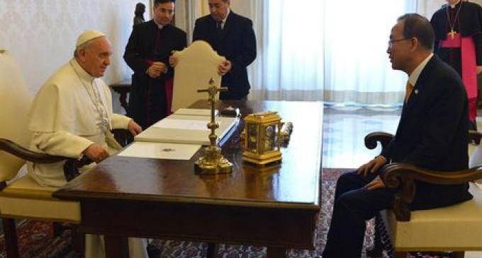 """El Papa a la ONU: """"Hay que desafiar todas las formas de la injusticia"""""""