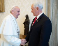 Francisco recibe al vicepresidente de Estados Unidos, Mike Pence