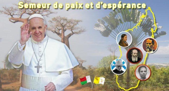 Francisco viajará a Mozambique, Madagascar y Mauricio del 4 al 10 de septiembre