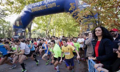 La XVI edición de la Carrera Cívico-Militar contra la droga reúne a alrededor de 4.000 corredores