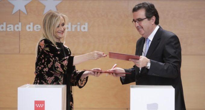 Cifuentes agradece a la Fundación Amancio Ortega su donación de 46,5 millones a la sanidad madrileña