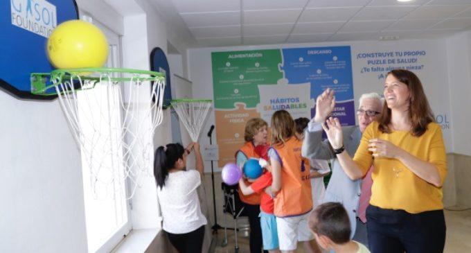 La Fundación Gasol abre la primera Sala Reto Saludable en el Hospital Niño Jesús para colaborar en la prevención de la obesidad infantil