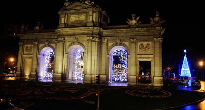 La ciudad de Madrid espera afianzar esta Navidad el record de visitantes