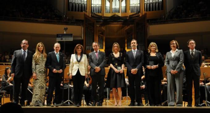 Botella asiste al concierto de clausura del 75 aniversario de la Agencia EFE