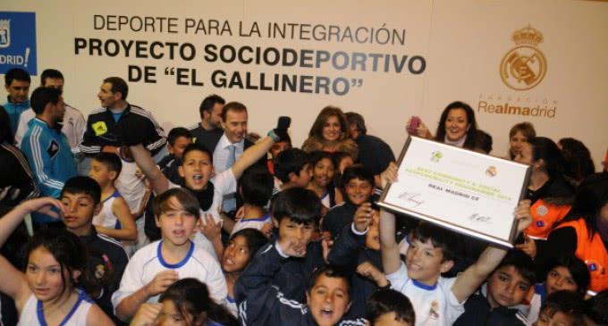 Fundación Real Madrid: Fútbol y Baloncesto contra la exclusión