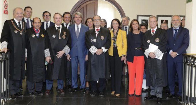 En el Tribunal Superior de Justicia de Madrid, Garrido asiste a la solemne apertura del Año Judicial en la Comunidad de Madrid