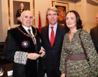 Garrido asiste a la toma de posesión del presidente de la Audiencia Provincial de Madrid