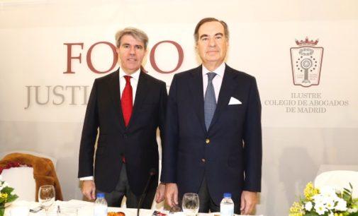 Garrido defiende un Poder Judicial independiente y protegido de los intereses de partidos y grupos de presión