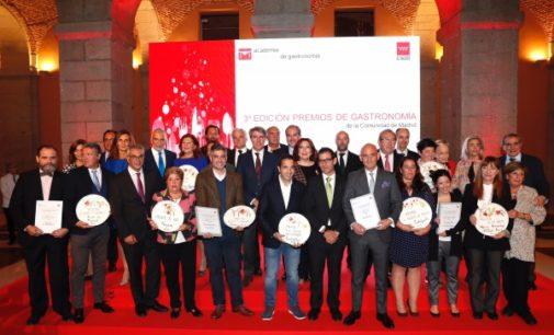 Garrido destaca la gastronomía madrileña como referente europeo y motor de atracción turística