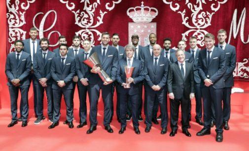 Garrido felicita al Real Madrid tras conseguir su décimo campeonato europeo de baloncesto