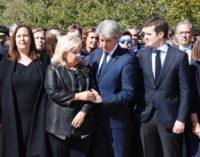 Garrido participa en la conmemoración del Día Europeo de las Víctimas del Terrorismo