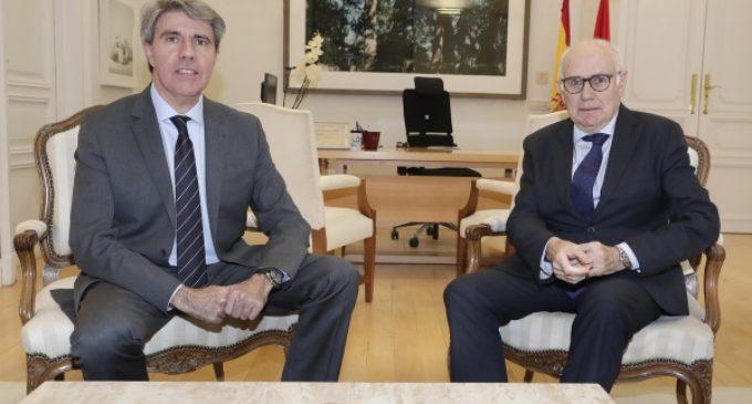 Garrido recibe al nuevo presidente de la Audiencia Provincial de Madrid