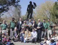 Garrido recuerda el legado de Félix Rodríguez de la Fuente y comparte su compromiso medioambiental