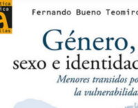 Libros: «Género, sexo e identidad», menores transidos por la vulnerabilidad, de Fernando Bueno Teomiro, publicado por Editorial San Pablo