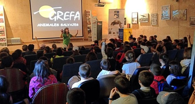 Casi 12.000 personas participaron en 2016 en el programa de educación ambiental de GREFA