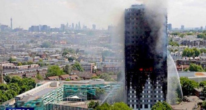El Papa expresa su dolor y reza por las víctimas del incendio de la torre Grenfiell en Londres