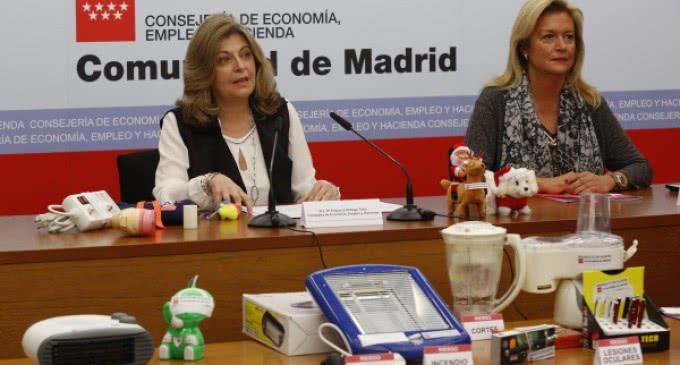 Alertas en Madrid sobre 145 productos que incumplían la normativa de seguridad en 2015