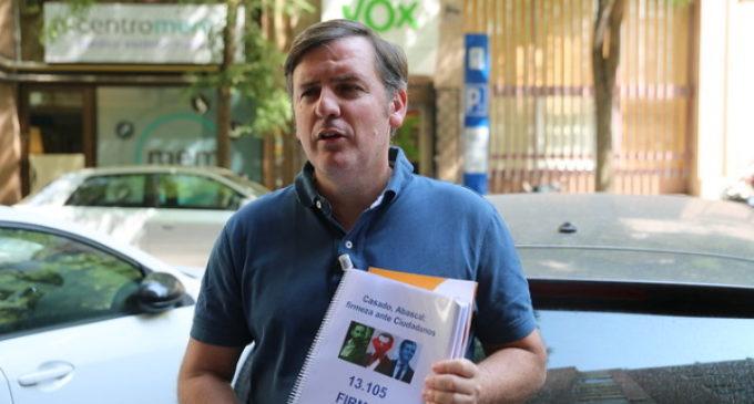 """Arsuaga: """"Si PP y Vox se dejan llevar por Ciudadanos, el adoctrinamiento LGTBI se mantendrá intacto en las aulas"""""""
