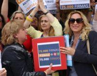 En Córdoba, ofensa extrema a la Virgen en uncuadro vejándola