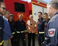 """Cifuentes: """"gracias a las brigadas helitransportadas, el 82 por ciento de los incendios de Madrid no supera la hectárea"""""""
