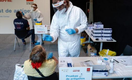 Madrid ha realizado en un año más de un millón de test de antígenos en 87 municipios