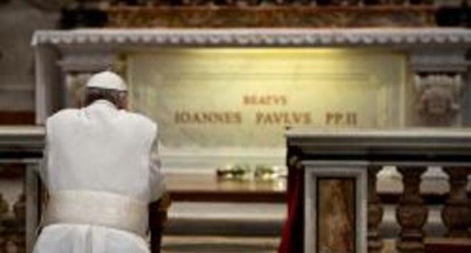 """""""En la misericordia de Dios, el mundo encontrará la paz"""": la herencia de san Juan Pablo II"""
