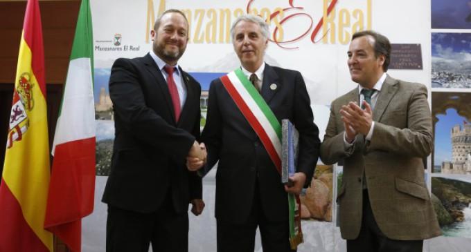 González Taboada asiste al hermanamiento entre Manzanares El Real y la ciudad italiana de Iseo