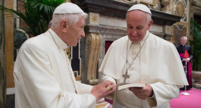 Ceremonia en el Vaticano para festejar los 65 años de la ordenación sacerdotal de Benedicto XVI