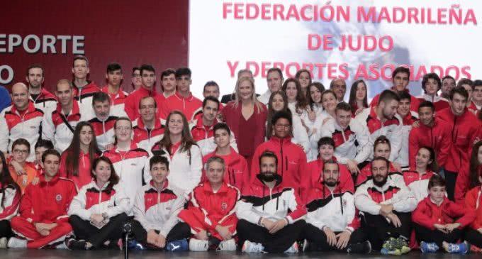 Homenaje en la Comunidad a los deportistas madrileños