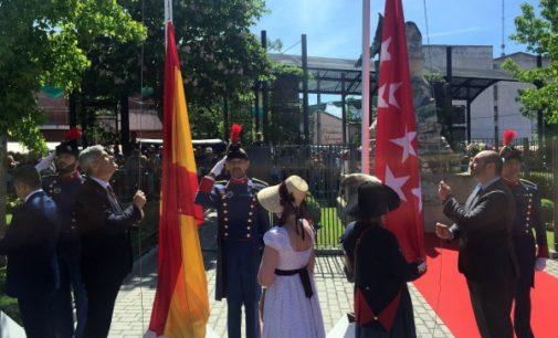 El Gobierno regional participa en el acto conmemorativo del 2 de mayo en Móstoles