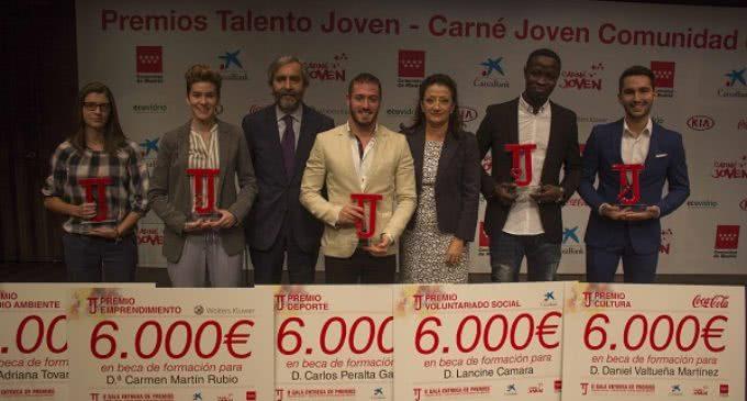 Carmen González, ha presidido la gala de entrega de los II Premios Talento JovenCarné Joven