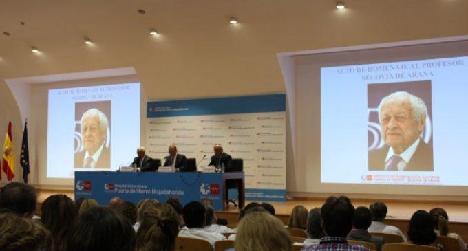 El Hospital Puerta de Hierro rinde homenaje a su fundador, el Profesor Segovia de Arana